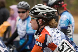 Virginia Cavaliers Jana Hester<br /> <br /> The College of William and Mary road race was held near Williamsburg, VA on February 25, 2007.