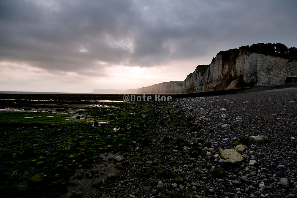 cliffs by Yport  Normandy France