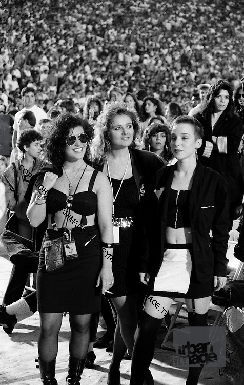 Depeche Mode Fans at the Hollywood Bowl 1988