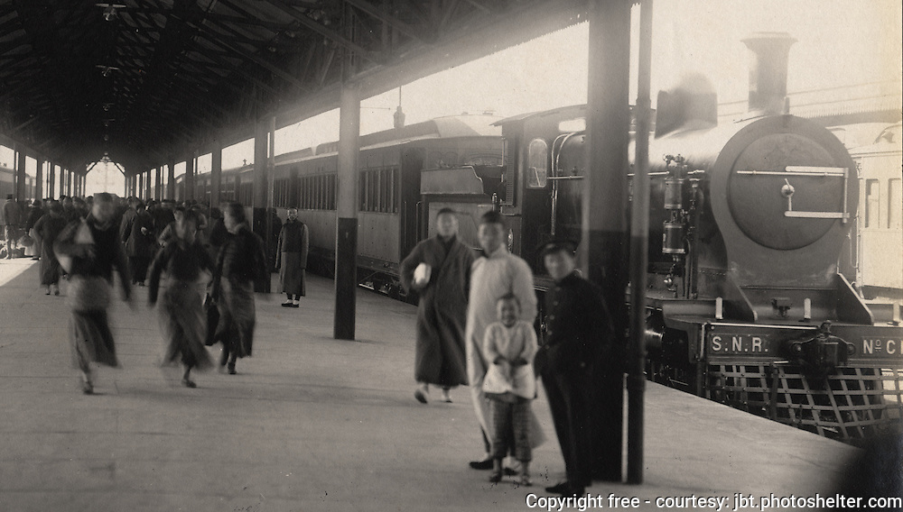 Development of Shanghai railway c1905-1909