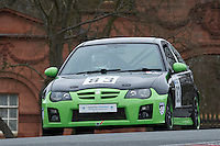 #83 Philip WALKER MG ZR 1800 during Lancaster Insurance MG Owners Club Championship as part of the BARC NW - Championship Raceday  at Oulton Park, Little Budworth, Cheshire, United Kingdom. March 19 2016. World Copyright Peter Taylor/PSP. Copy of publication required for printed pictures.  Every used picture is fee-liable. http://archive.petertaylor-photographic.co.uk