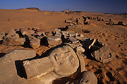 """Nubian temples saved by the water by an extraordinary international vampaign of UNESCO, as part of the world's cultural heritage. Over 20 monuments were saved. Uadi Sebuah, """"Valley of the Lions"""": the temple built by  Ramses II. Once the Nubia, a region rich in gold, was a necessary link between Equatorial Africa and the Mediterranean civilisations. The pharaohs build many temples in Nubia, the most grandiose expression is Abu Simbel built by Ramesses II. Today only few small cruise ships reach the Nubian monuments, far from the mass tourism of Nile valley."""