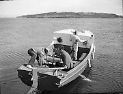 Lord Mountbatten boating at Mullaghmore..29-30.07.1960