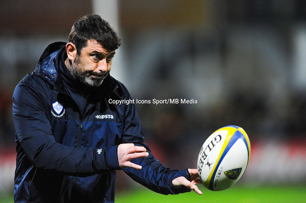 David DARRICARRERE  - 20.12.2014 - Clermont / Castres - 13eme journee de Top 14 -<br /> Photo : Jean Paul Thomas / Icon Sport