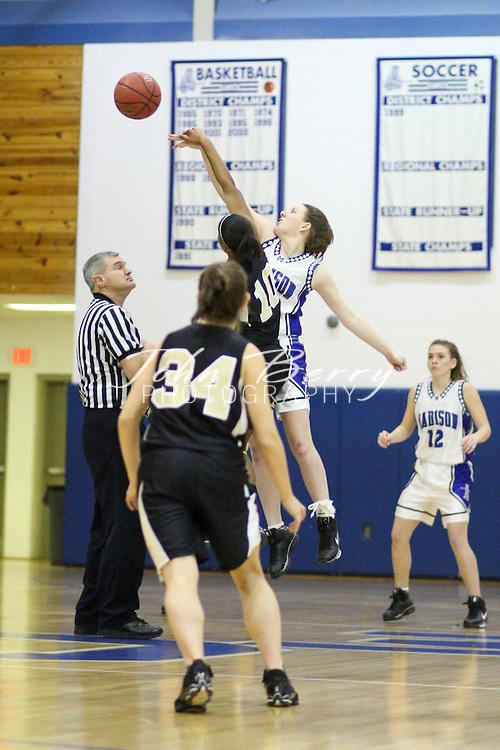 MCHS Varsity Girls Basketball.vs Monticello .12/20/2008