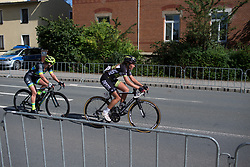 Sophie de Boer (NED) of Parkhotel Valkenburg - Destil Cycling Team heads out for the final lap of Stage 1 of the Lotto Thuringen Ladies Tour - a 124.8 km road race, starting and finishing in Schleiz on July 13, 2017, in Thuringen, Germany. (Photo by Balint Hamvas/Velofocus.com)