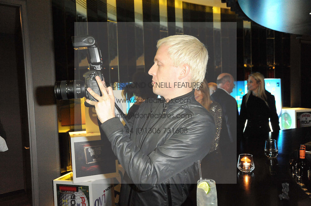 MR HUDSON at the premiere of Nokia's N8 short film 'The Commuter' held at Aqua, 30 Argyll Street, London on 25th October 2010.