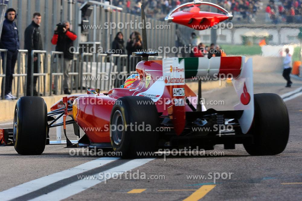 02.02.2011, Street Circuit, Jerez, ESP, Formel 1 Test 1 Valencia 2011,  im Bild Fernando Alonso (ESP),  Scuderia Ferrari EXPA Pictures © 2011, PhotoCredit: EXPA/ nph/  Dieter Mathis       ****** out of GER / SWE / CRO  / BEL ******
