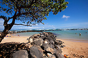 Lydgate Beach Park, Wailua, Kauai, Hawaii