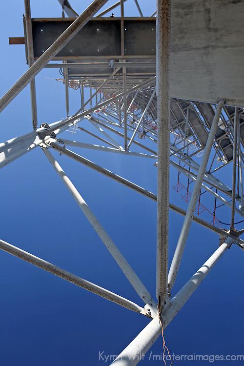 South America, Brazil, Brasilia. The TV Tower in the monumental axis of Brasilia.