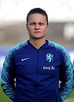 International Women's Friendly Matchs 2019 / <br /> Womens's Algarve Cup Tournament 2019 - <br /> Spain v Netherlands 2-0 ( Municipal Da Bela Vista Stadium- Parchal,Portugal ) - <br /> Sherida Spitse of Netherlands
