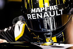 April 27, 2018 - Baku, Azerbaijan - HULKENBERG Nico (ger), Renault Sport F1 Team RS18, action during the 2018 Formula One World Championship, Grand Prix of Europe in Azerbaijan from April 26 to 29 in Baku - Photo  /  Motorsports: World Championship; 2018; Grand Prix Azerbaijan, Grand Prix of Europe, Formula 1 2018 Azerbaijan Grand Prix, (Credit Image: © Hoch Zwei via ZUMA Wire)