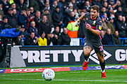 Leeds United defender Gaetano Berardi (28) in action during the EFL Sky Bet Championship match between Huddersfield Town and Leeds United at the John Smiths Stadium, Huddersfield, England on 7 December 2019.
