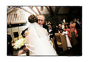 SHOT 6/9/2007 - Photos of the wedding of Frank Nguyen and Jill Cannon at Our Lady of the Mountains Church in Estes Park, Co..(Photo by Marc Piscotty © 2007)