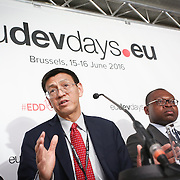 20160615 - Brussels , Belgium - 2016 June 15th - European Development Days - Developments in agricultural trade and the Sustainable Development Goals in African, Caribbean and Pacific countries - Shenggen Fan , Director General , International Food Policy Research Institute © European Union
