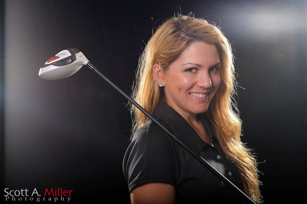 Sydnee Michaels during a portrait shoot prior to the LPGA Futures Tour's Daytona Beach Invitational at LPGA International's Championship Course on March 31, 2011 in Daytona Beach, Florida... ©2011 Scott A. Miller