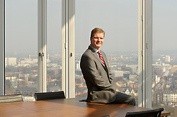 Uwe Stegmann at the McKinsey & Co offices in Dusseldorf, Germany, on Wednesday, March 21, 2012. (Photo / Jock Fistick)