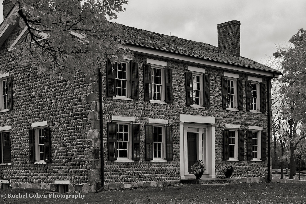 &quot;Cobblestone Farm Beauty&quot; B&amp;W<br />