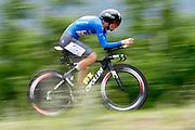 Giulio Ciccone (ITA - Bardiani - CSF) during the 101th Tour of Italy, Giro d'Italia 2018, stage 16, Trento - Rovereto 34.5 km on May 22, 2018 in Italy - Photo Luca Bettini / BettiniPhoto / ProSportsImages / DPPI