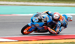 26.06.2014, TT Circuit, Assen, NED, MotoGP, Assen, im Bild 42 Alex Rins<br /> Estrella Galicia 0,0<br /> Motorrad: Honda<br /> Barcelona // during the MotoGP Iveco TT Assen at the TT Circuit in Assen, Netherlands on 2014/06/26. EXPA Pictures © 2014, PhotoCredit: EXPA/ Eibner-Pressefoto/ FOTO-SPO_AG<br /> <br /> *****ATTENTION - OUT of GER*****