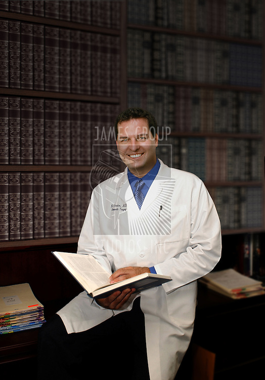 physician in office