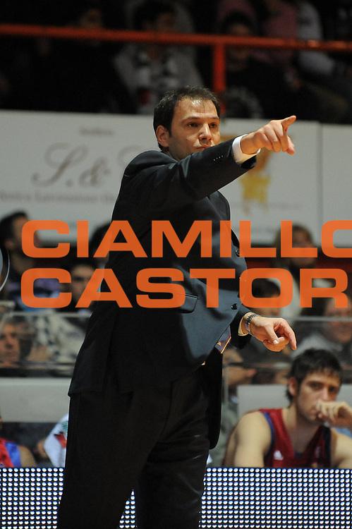 DESCRIZIONE : Caserta Lega A1 2008-09 Eldo Caserta GMAC Lottomatica Virtus Roma<br /> GIOCATORE : Nando Gentile<br /> SQUADRA : Lottomatica Virtus Roma<br /> EVENTO : Campionato Lega A1 2008-2009 <br /> GARA : Eldo Caserta Lottomatica Virtus Roma<br /> DATA : 25/01/2009<br /> CATEGORIA : ritratto<br /> SPORT : Pallacanestro <br /> AUTORE : Agenzia Ciamillo-Castoria/E.Castoria