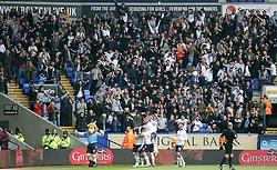 Bolton Wanderers supporters celebrate as Jem Karacan celebrates scoring the opening goal - Mandatory by-line: Joe Dent/JMP - 30/04/2017 - FOOTBALL - Macron Stadium - Bolton, England - Bolton Wanderers v Peterborough United - Sky Bet League One