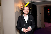 SCOTT DOUGLAS, The Surrealist Ball in aid of the NSPCC. Hosted by Lucy Yeomans and Harry Blain. Banqueting House. Whitehall. 17 March 2011. -DO NOT ARCHIVE-© Copyright Photograph by Dafydd Jones. 248 Clapham Rd. London SW9 0PZ. Tel 0207 820 0771. www.dafjones.com.