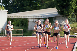 Jelena Gajic (BIH, 13), Sara Vidakovic (CRO, 43) and Petra Grcevic (CRO, 36) during 13. Athletic memorial miting Matica Sustersica in Patrika Cvetana 2018, on June 27, 2018 in Stadion ZAK, Ljubljana, Slovenia. Photo by Urban Urbanc / Sportida