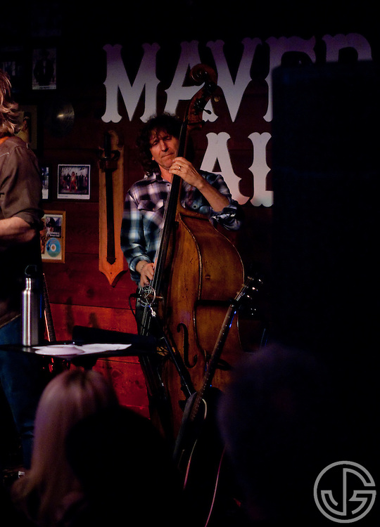 Randy Tico (standup bass) performs with Jeff Bridges at Maverick Saloon in Santa Ynez, California, on June 23, 2011. Jeff Bridges' self-titled album is due for an August 16, 2011, release on Blue Note Records.