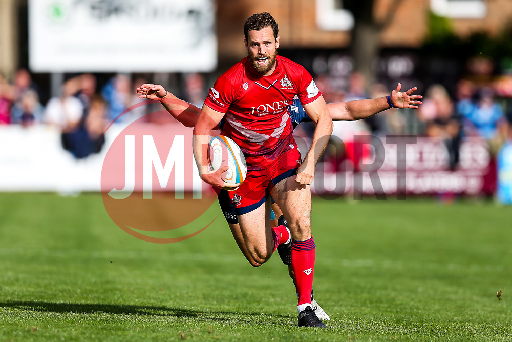 Luke Morahan of Bristol Rugby - Rogan/JMP - 22/09/2017 - RUGBY UNION - Goldington Road - Bedford, England - Bedford Blues v Bristol Rugby - Greene King IPA Championship.