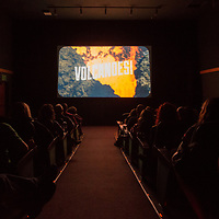 "Screening of ""VOLCANOES! Hugo and the Killer Hive,"" by Boise State graduate Zach Voss at the Flicks,  Allison Corona photo"