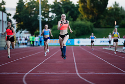 Agata Zupin competes in Women's 400m sprint during day one of the 2020 Slovenian Cup in ZAK Stadium on July 4, 2020 in Ljubljana, Slovenia. Photo by Grega Valancic / Sportida