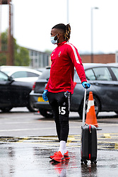 Kasey Palmer of Bristol City arrives during a friendly match before the Premier League and Championship resume after the Covid-19 mid-season disruption - Rogan/JMP - 12/06/2020 - FOOTBALL - St Mary's Stadium, England - Southampton v Bristol City - Friendly.