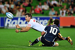 Louis Ludik (Sharks).Melbourne Rebels v The Sharks.Rugby Union - 2011 Super Rugby.AAMI Park, Melbourne VIC Australia.Friday, 11 March 2011.© Sport the library / Jeff Crow