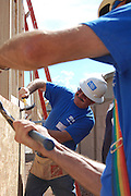 Habitat for Humanity Tucson volunteers at Building Freedom Day, September 11, 2009.
