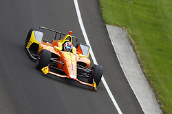 May 18, 2018 - Indianapolis, Indiana, United States of America - ZACH VEACH (26) of the United Stated brings his car through turn one during ''Fast Friday'' practice for the Indianapolis 500 at the Indianapolis Motor Speedway in Indianapolis, Indiana. (Credit Image: © Chris Owens Asp Inc/ASP via ZUMA Wire)
