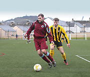 Dundee Saturday Morning Football League sides Dryburgh (claret and light blue) and Wellbeat (yelllow and black) in friendly action at DISC <br /> <br /> <br />  - © David Young - www.davidyoungphoto.co.uk - email: davidyoungphoto@gmail.com