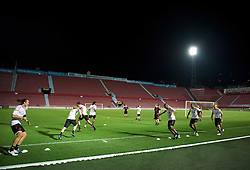 TRABZON, TURKEY - Wednesday, August 25, 2010: Liverpool players during training at the Huseyin Avni Aker Stadium ahead of the UEFA Europa League Play-Off 2nd Leg match against Trabzonspor A.S. (Pic by: David Rawcliffe/Propaganda)