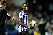 Moses Odubajo of Sheffield Wednesday during the EFL Sky Bet Championship match between Sheffield Wednesday and Luton Town at Hillsborough, Sheffield, England on 20 August 2019.