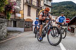10-09-2017 FRA: BvdGF Tour du Mont Blanc day 1, Beaufort <br /> Vandaag vertrekken we vanuit Papendal in Arnhem naar naar het plaatsje Beaufort (nabij Chamonix) in Frankrijk / Bas Vasa