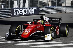 May 24, 2018 - Montecarlo, Monaco - 20 Louis DELETRAZ from France of CHAROUZ RACING SYSTEM during the Monaco Formula 2 Grand Prix at Monaco on 24th of May, 2018 in Montecarlo, Monaco. (Credit Image: © Xavier Bonilla/NurPhoto via ZUMA Press)