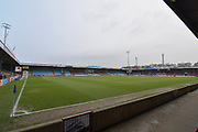 Scunthorpe United ground Glanford Park before the EFL Sky Bet League 1 match between Scunthorpe United and Gillingham at Glanford Park, Scunthorpe, England on 20 January 2018. Photo by Ian Lyall.
