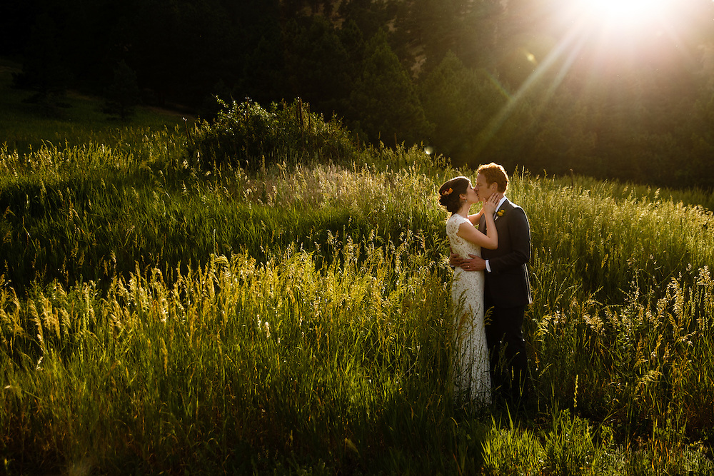 Sean O'Brien and Liz Somes are married in Boulder, Saturday, June 25, 2016. Photo by Justin Edmonds