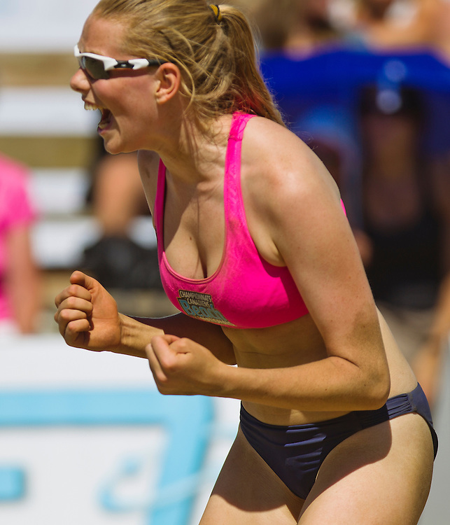 Canadian Western Beach Volleyball Championships August 17, 2013 in Parksville B.C. Canada. (Kevin Light)