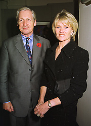 MR BARRY & LADY CHARLOTTE DINAN, at a party in London on 4th November 1998.MLO 64