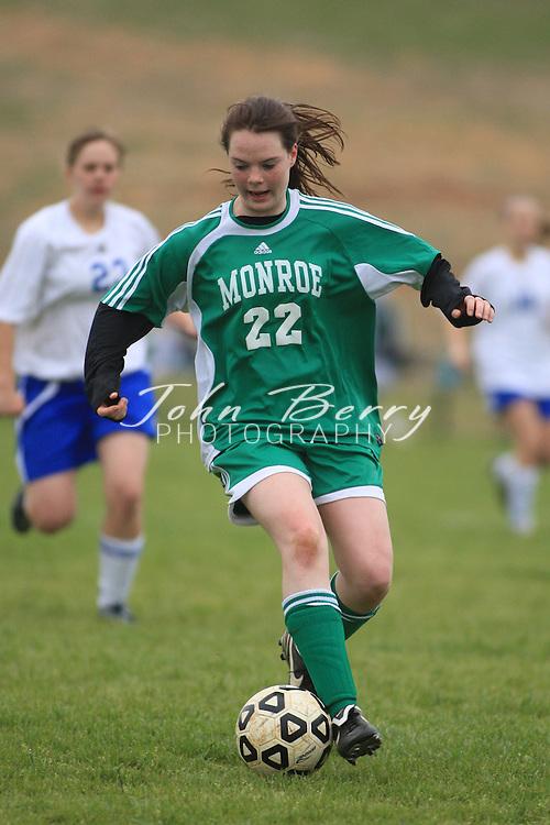 MCHS Varsity Girl's Soccer.vs Greene.4/8/2008.Madison 9, Greene 1.