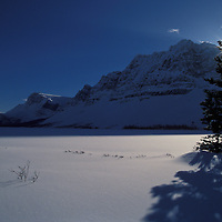 Bow Lake. Banff National Park, Canada.