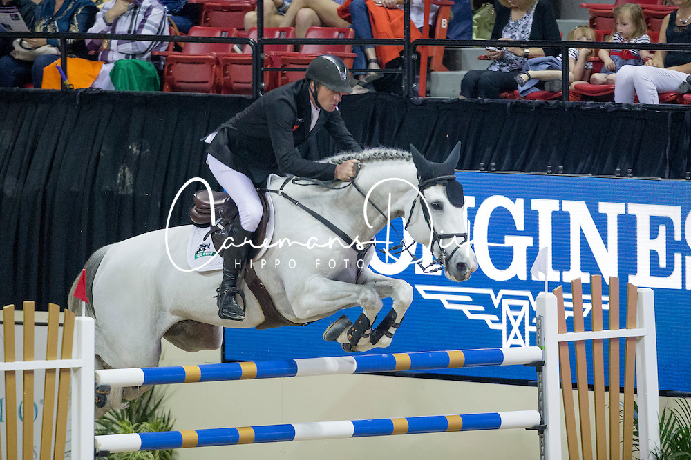 Vrieling Jur, (NED), VDL Zirocco Blue <br />  Longines FEI World Cup&trade; Jumping Final Las Vegas 2015<br />  &copy; Hippo Foto - Dirk Caremans<br /> Final III round 2 - 19/04/15