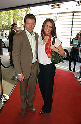 Actor MAX BEESLEY and actress SUSIE AMY at a private screening of 'Sketches of Frank Gehry in association with jewellers Tiffany held at the Curzon Cinema, Mayfair on 10th May 2006 followed by a party at Nobu Mayfair, Berkeley Street.<br />